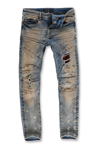 Aaron - Cooperstown Moto Denim (Antique)