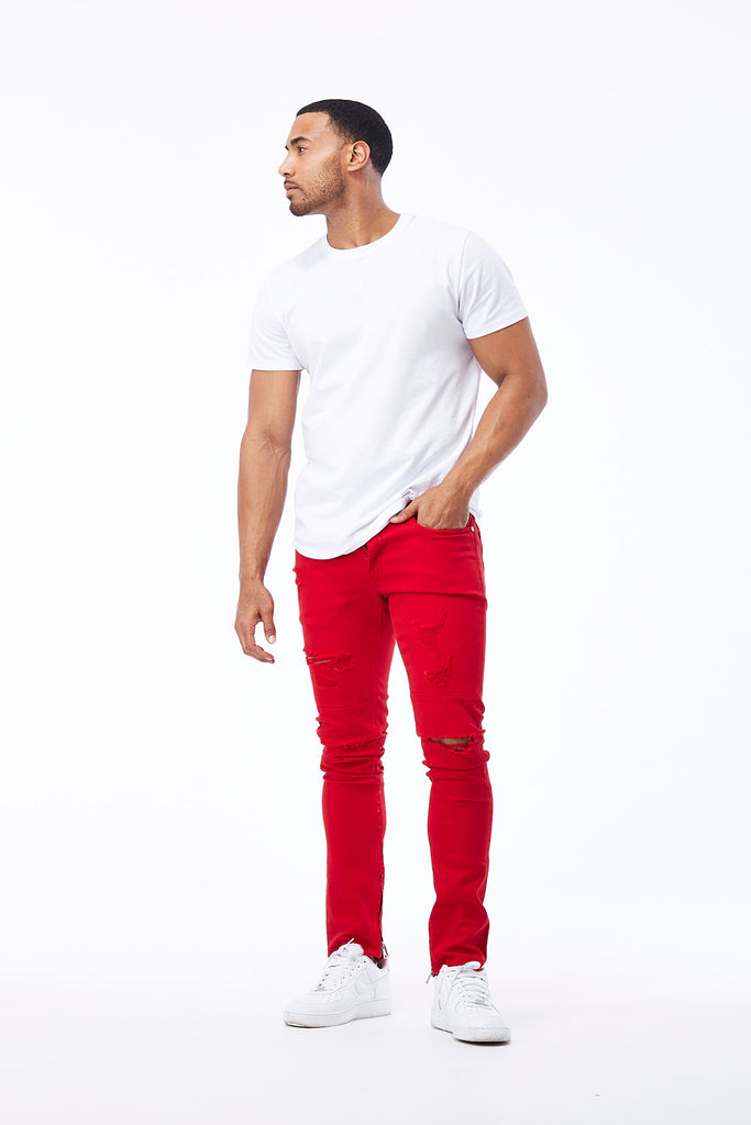 Jordan Craig - Sean - Revolt Twill Pants 2.0 (Red)