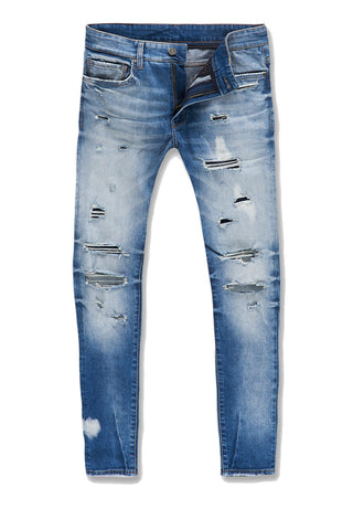 Sean - Ironbound Denim (Destroyed Blue)