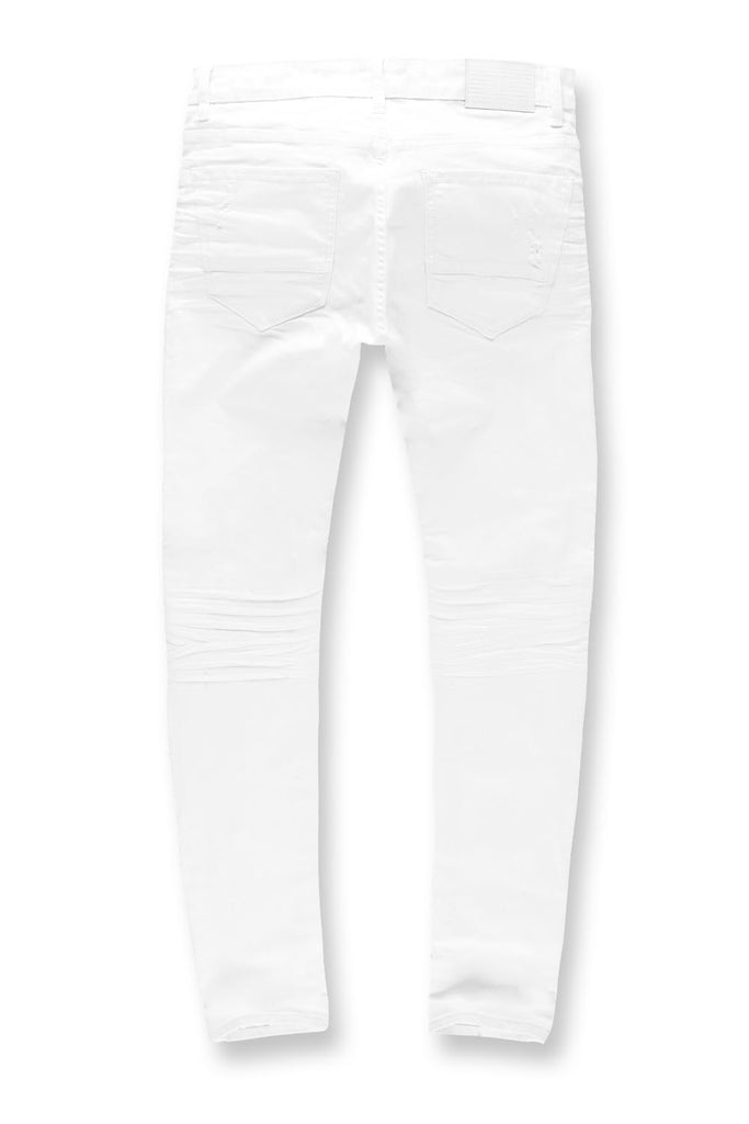 Sean - Irvine Denim (White)