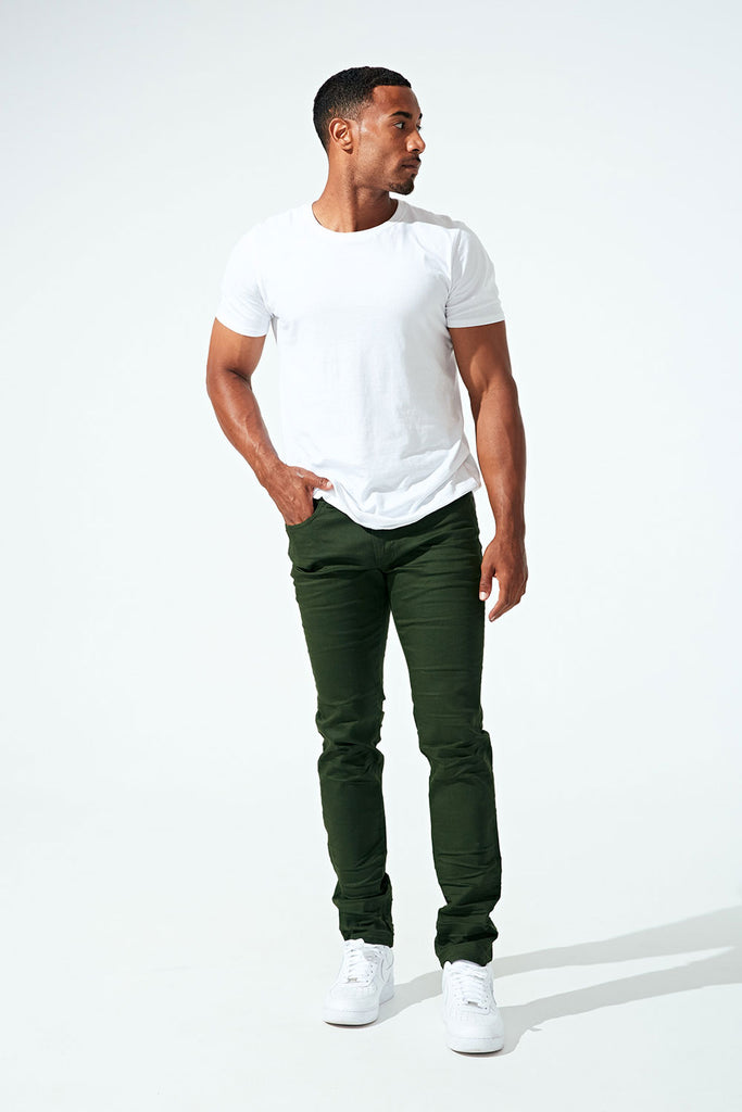 Jordan Craig - Aaron - Salem Denim (Forest Green)