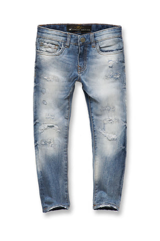 Kids Harlem Denim (Aged Wash)