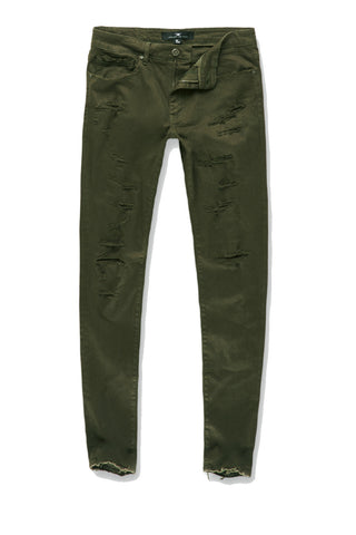 Jordan Craig - Aaron - Tribeca Twill Pants (Army Green)