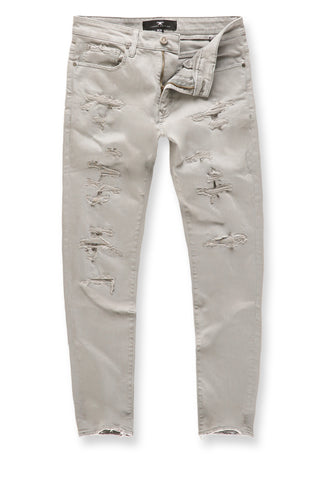 Jordan Craig - Big Men's Tribeca Twill Pants (Light Grey)