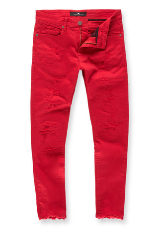 Jordan Craig - Big Men's Tribeca Twill Pants (Red)