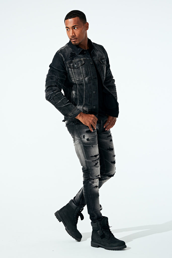 Sean - Reno Denim (Industrial Black)