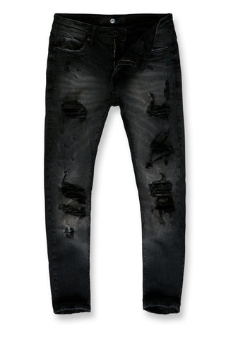 Sean - Englewood Denim (Black)