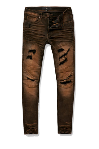 Sean - Great Lakes Moto Denim (Black Rust)