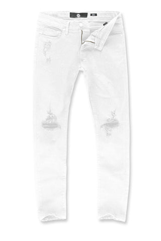 Sean - Asbury Denim (White)