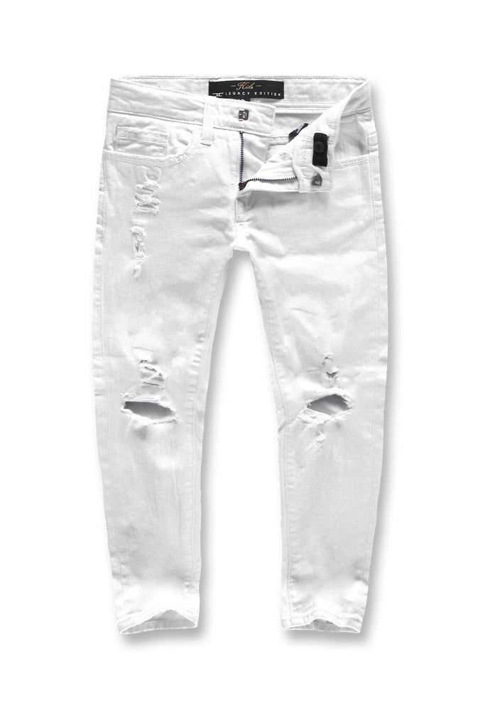 Jordan Craig - Kids Asbury Denim (White)