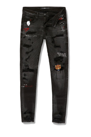 Jordan Craig - Sean - Plush Bear Stash Denim (Black Shadow)