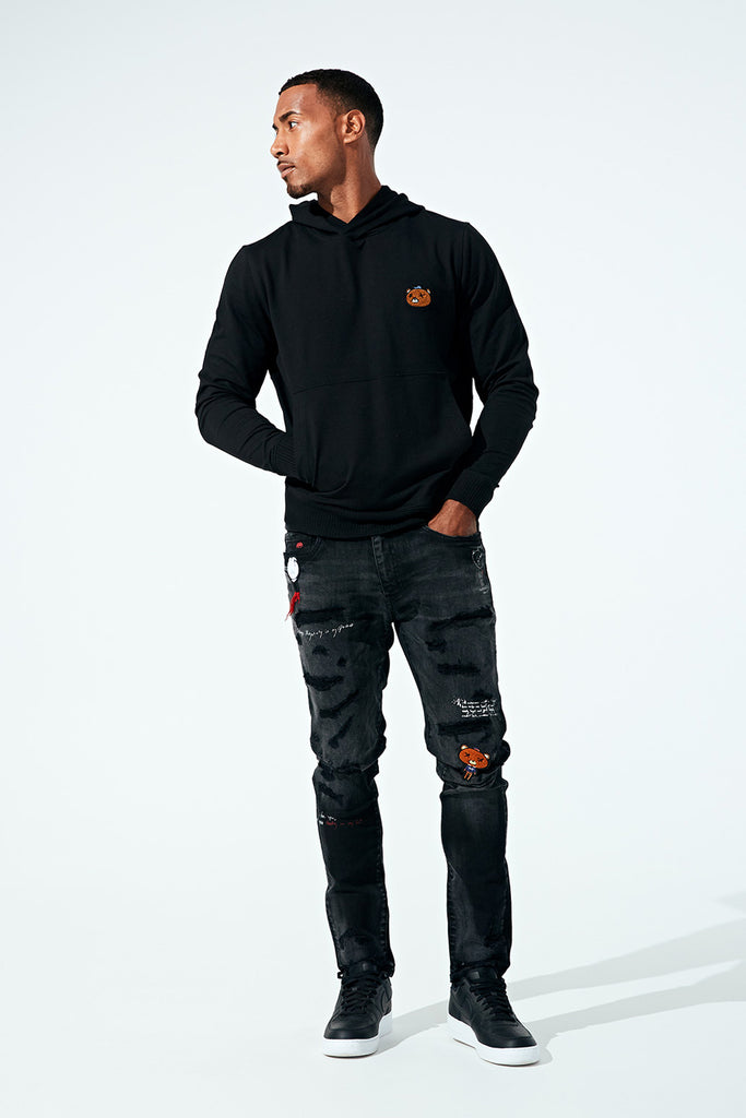 Sean - Plush Bear Stash Denim (Black Shadow)