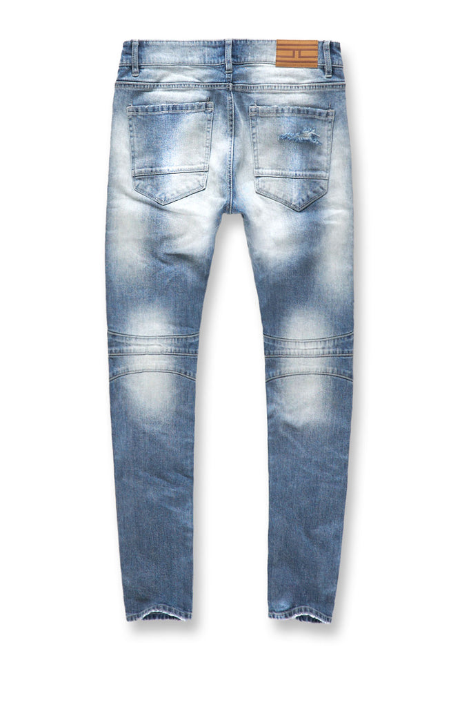 Jordan Craig - Sean - Arlington Moto Denim (Aged Wash)
