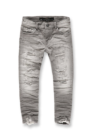 Kids Crushed Denim (Cement Wash)