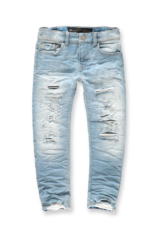Kids Crushed Denim (Ice Blue)