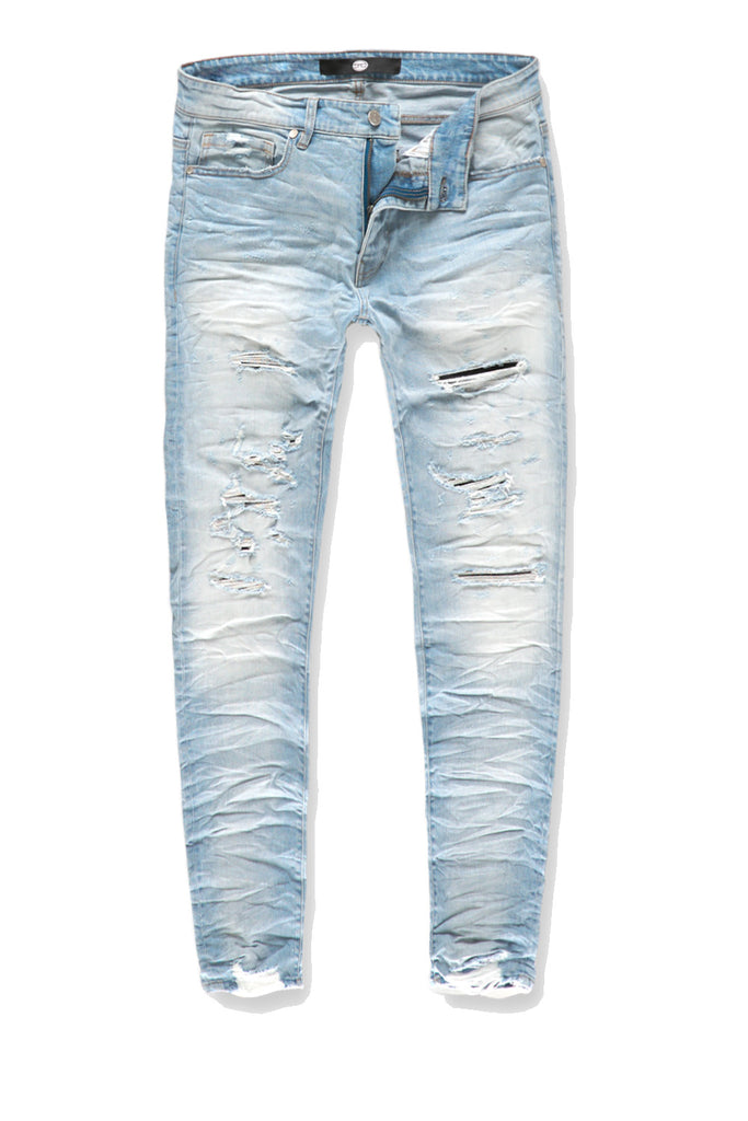 Sean - Crushed Denim (Ice Blue)