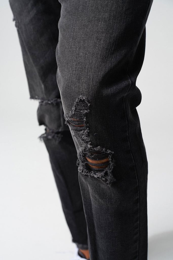 Jordan Craig - Sean - Avalon Cropped Denim (Black Shadow)