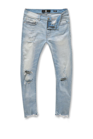 Sean - Avalon Cropped Denim (Ice Blue)