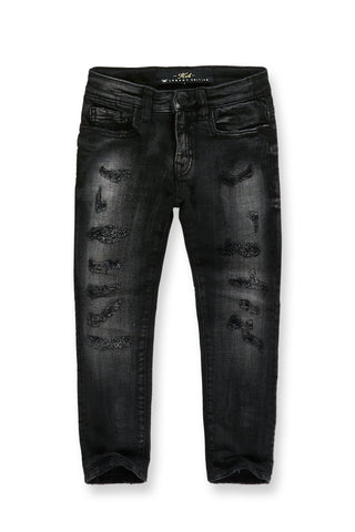 Jordan Craig - Kids Reno Denim (Industrial Black)