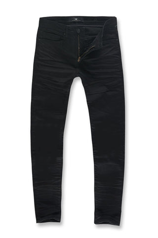 Collins - Obsidian Denim (Jet Black)