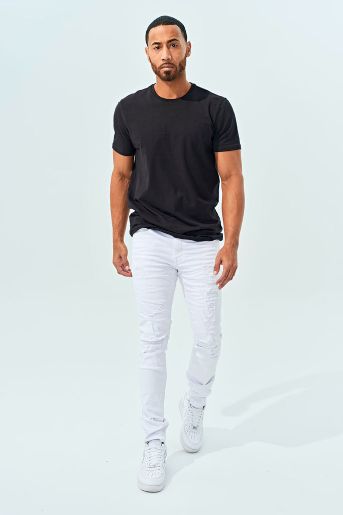 Jordan Craig - Sean - Tourmaline Denim (White)