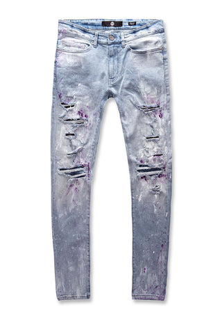 Jordan Craig - Sean - Fire & Embers Denim (Ice Blue)