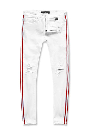 Jordan Craig - Sean - F1 Striped Denim (White)