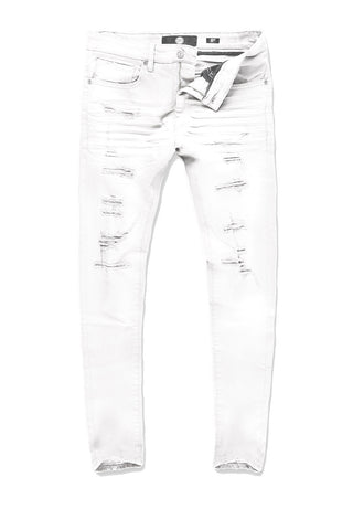 Big Men's Tribeca Twill Pants 2.0 (White)