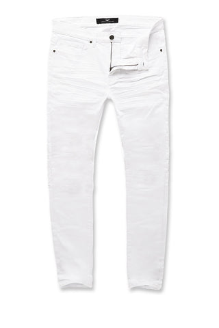 Big Men's Nashville Slub Jeans 2.0 (White)