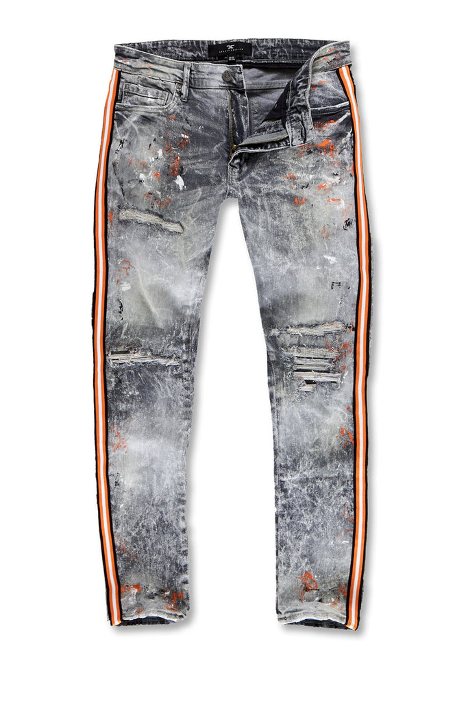 Big Men's Sparta Striped Denim (Starfish)