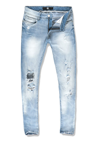 Ross - Navajo Denim (Ice Blue)