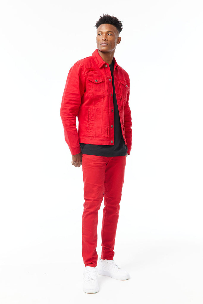 Ross - Pure Tribeca Twill Pants (Red)