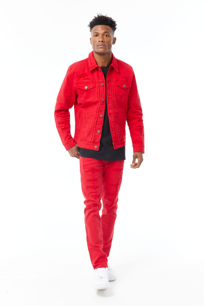 Sean - Tribeca Twill Pants (Red)
