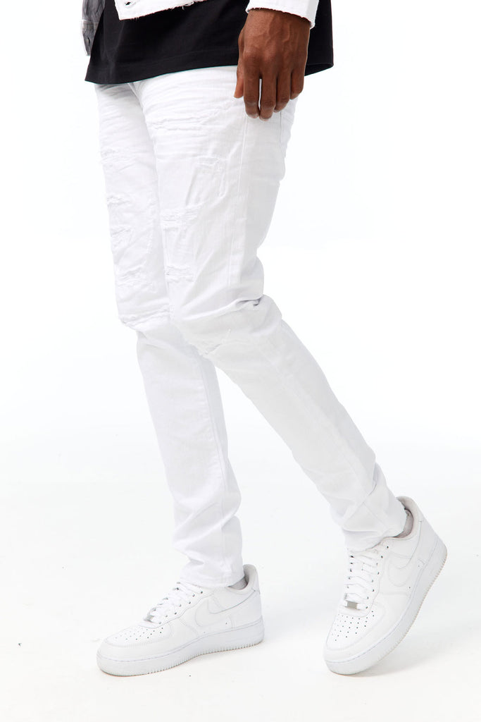 Sean - Tribeca Twill Pants (White)