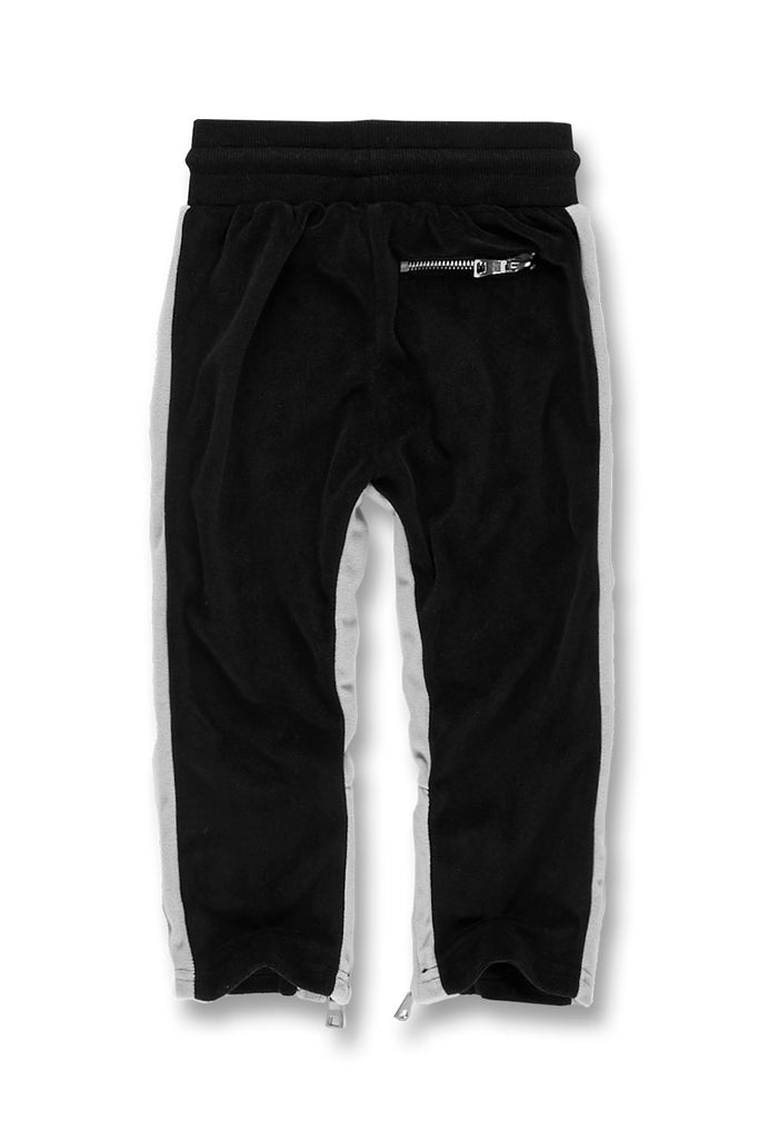 Jordan Craig - Kids Luciano Velour Pants (Black)