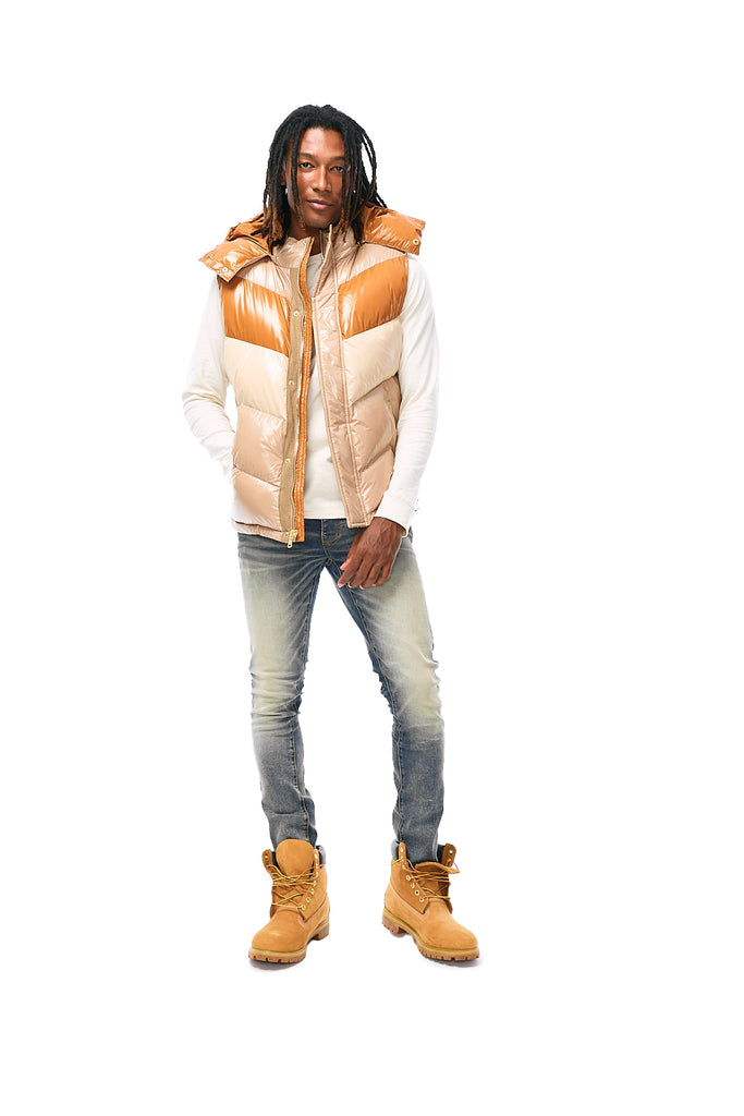 Sugar Hill Puffer Vest (Desert Fox)