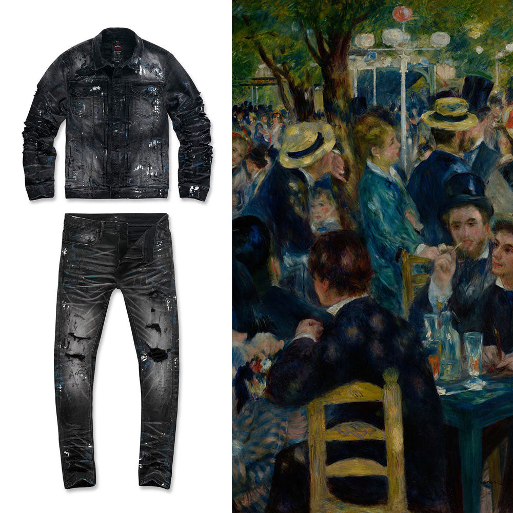 Jordan Craig - Parisian Denim Trucker Jacket (Renoir)