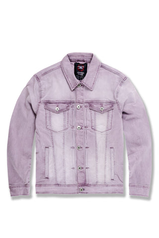 Atlanta Denim Jacket (Pastel Purple)