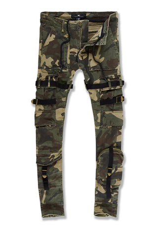Ross - Cairo Cargo Pants (Woodland)