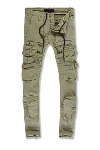 Ross - Cairo Cargo Pants (Olive)