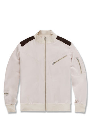 Bristol Track Jacket (Cream)