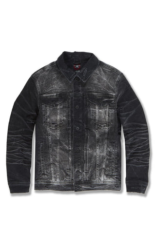 Soho Denim Trucker Jacket (Industrial Black)