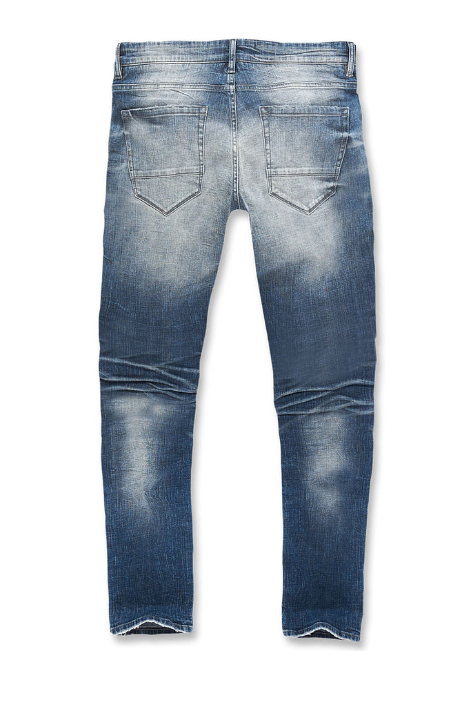 Big Men's Aaron Motor City Denim (Aged Wash)