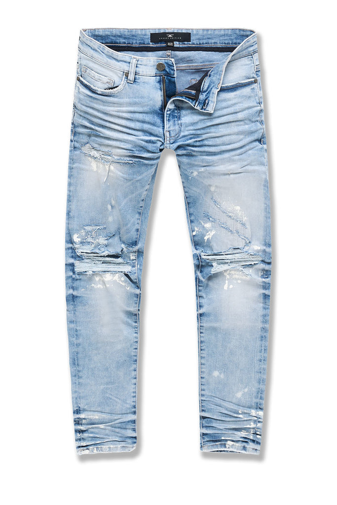 Big Men's Aaron Oakland Denim (Ice Blue)
