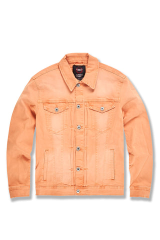 Atlanta Denim Jacket (Pastel Orange)