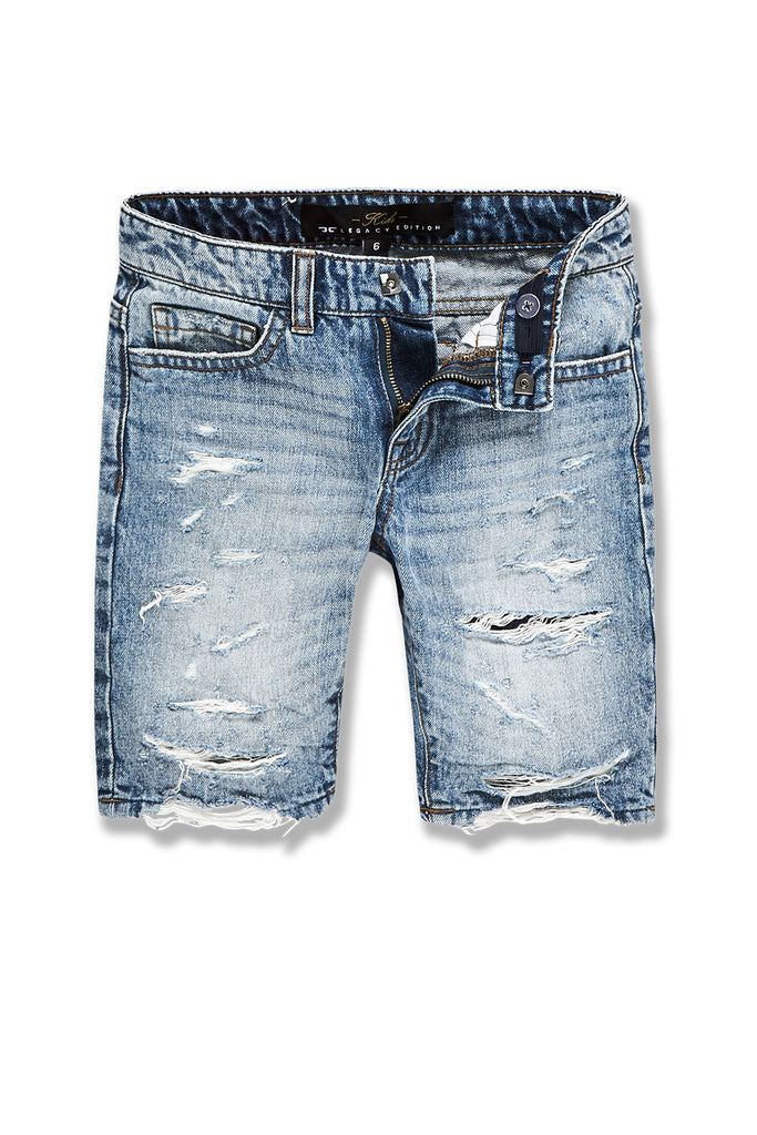 Kids Belmar Denim Shorts (Medium Blue)