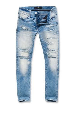 Big Men's Aaron Motor City Denim (Ice Blue)