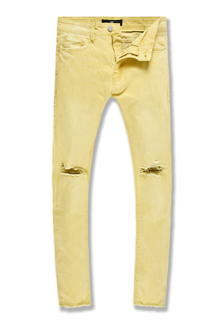 Ross - Atlanta Denim (Pastel Yellow)