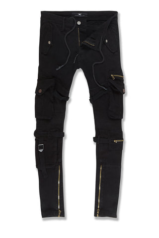 Ross - Brighton Cargo Pants (Black)