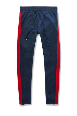 Collegiate Track Pants (Navy)
